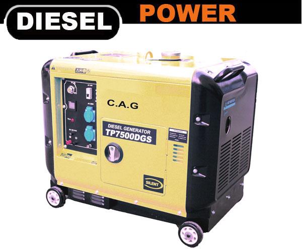 Portable Diesel Generator - CAG Engines